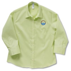 View a larger, more detailed picture of the Jockey Wrinkle-Resistant 3 4 Sleeve Shirt - Ladies