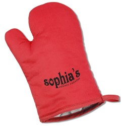 View a larger, more detailed picture of the Therma-Grip Oven Mitt - Solid