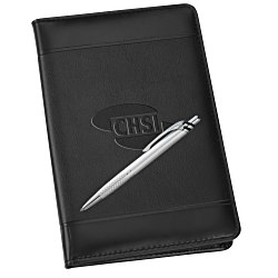 View a larger, more detailed picture of the Windsor Impressions Jr Zippered Padfolio Set