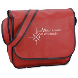 View a larger, more detailed picture of the Polypropylene Messenger Bag