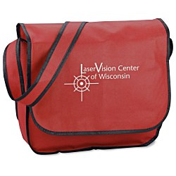 View a larger, more detailed picture of the Polypropylene Messenger Bag - 24 hr