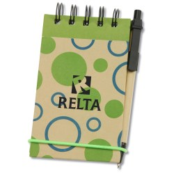 View a larger, more detailed picture of the V Natural Geo Jotter w Pen