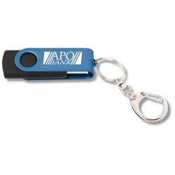 View a larger, more detailed picture of the Swing USB Drive - Color - 1GB
