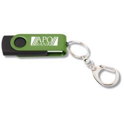 View a larger, more detailed picture of the Swing USB Drive - Color - 2GB