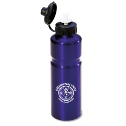 View a larger, more detailed picture of the Aluminum Water Bottle - 24 oz - Closeout