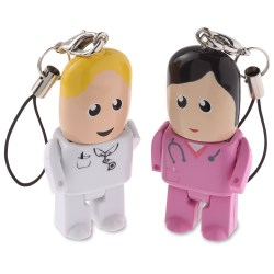 View a larger, more detailed picture of the USB Micro People - Medical - 1GB
