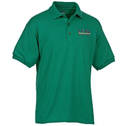 View a larger, more detailed picture of the Gildan 5 6 oz DryBlend 50 50 Jersey Polo