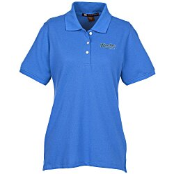 View a larger, more detailed picture of the Harriton 5 6 oz Easy Blend Polo - Ladies
