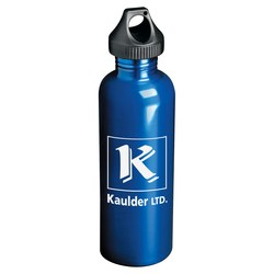 View a larger, more detailed picture of the Fiji Stainless Steel Sport Bottle - 25 oz