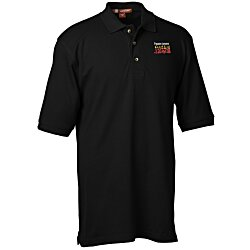 View a larger, more detailed picture of the Harriton 6 oz Ringspun Cotton Pique Polo - Men s