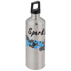 View a larger, more detailed picture of the h2go Classic Stainless Steel Sport Bottle 24 oz Dots