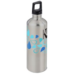 View a larger, more detailed picture of the h2go Classic Stainless Steel Sport Bottle 24 oz Drops