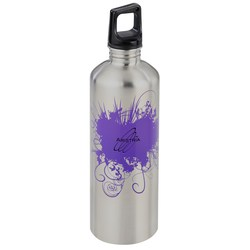 View a larger, more detailed picture of the h2go Classic Stainless Steel Sport Bottle 24 oz Burst