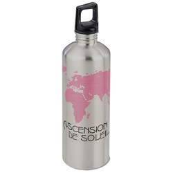 View a larger, more detailed picture of the h2go Classic Stainless Steel Sport Bottle 24 oz Globe