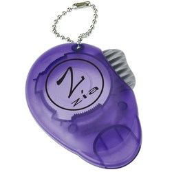 View a larger, more detailed picture of the Dual Opener Keychain - Translucent - Closeout