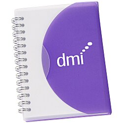 View a larger, more detailed picture of the Medium Spiral Curve Notebook