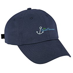 View a larger, more detailed picture of the Brushed Cotton Twill Cap - Embroidered
