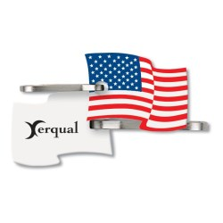 View a larger, more detailed picture of the Flag Quik-Zip Zipper Pull