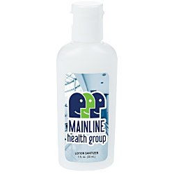 View a larger, more detailed picture of the Hand Sanitizer Lotion - 1 oz 