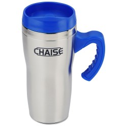 View a larger, more detailed picture of the Get-A-Grip Stainless Travel Mug - 16 oz 