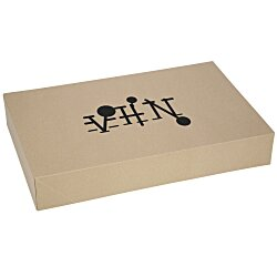 View a larger, more detailed picture of the Apparel Gift Box - 12 x 19 x 3 - Natural Kraft