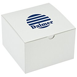 View a larger, more detailed picture of the Gift Box - 6 x 6 x 4 - Gloss White