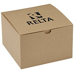 View a larger, more detailed picture of the Gift Box - 6 x 6 x 4 - Natural Kraft