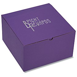 View a larger, more detailed picture of the Gift Box - 10 x 10 x 6 - Tinted Kraft