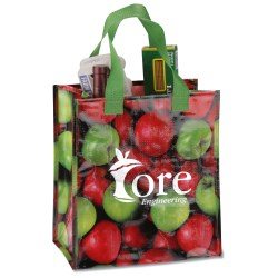 View a larger, more detailed picture of the PhotoGraFX Grocery Tote - Apples
