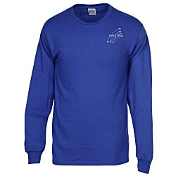 View a larger, more detailed picture of the Gildan 6 1 oz Ultra Cotton LS T-Shirt - Men s - Colors