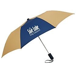 View a larger, more detailed picture of the 42 Folding Umbrella with Auto Open - Alternating