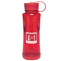 View a larger, more detailed picture of the Thumbprint Tritan Bottle - 22 oz