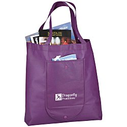 View a larger, more detailed picture of the Fold Up Tote - 14 x 16 