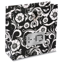 View a larger, more detailed picture of the Triangle Handle Gift Bag - Paisley