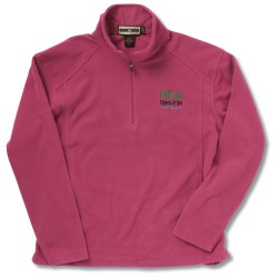 View a larger, more detailed picture of the Half Zip Microfleece Pullover - Ladies