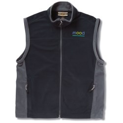 View a larger, more detailed picture of the North End Microfleece Vest - Men s