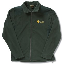 View a larger, more detailed picture of the Recycled Polyester Fleece Full-Zip Jacket - Men s