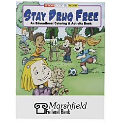 View a larger, more detailed picture of the Stay Drug Free Coloring Book