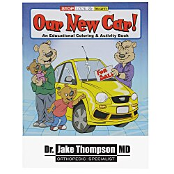 View a larger, more detailed picture of the Our New Car Coloring Book
