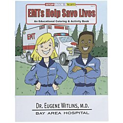 View a larger, more detailed picture of the EMT S Help Save Lives Coloring Book