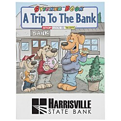 View a larger, more detailed picture of the A Trip To The Bank Sticker Book