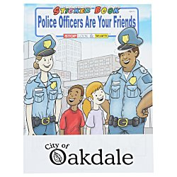View a larger, more detailed picture of the Police Officers Are Your Friends Sticker Book