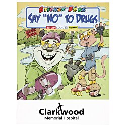 View a larger, more detailed picture of the Say NO To Drugs Sticker Book