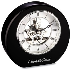 View a larger, more detailed picture of the DeSoto Clock - Black