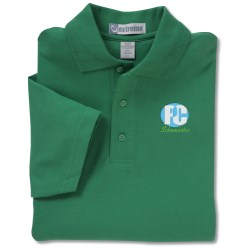 View a larger, more detailed picture of the EDRY Interlock Polo - Men s