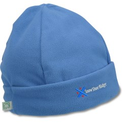 View a larger, more detailed picture of the Recycled Polyester Fleece Beanie