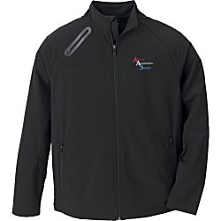 View a larger, more detailed picture of the 3-Layer Weather Technology Soft Shell Jacket - Men s