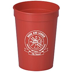 View a larger, more detailed picture of the Stadium Cup - 12 oz - Smooth