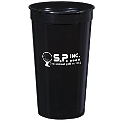 View a larger, more detailed picture of the Stadium Cup - 32 oz - Smooth