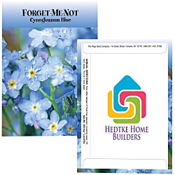 View a larger, more detailed picture of the Standard Series Seed Packet - Forget-Me-Not
